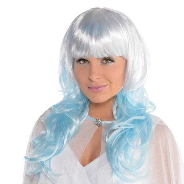 Ice Fairy Platinum Shimmer Wig